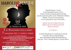 Le Théâtre de Défi présente: HAROLD & MAUDE @ Les abattoirs de Bomel